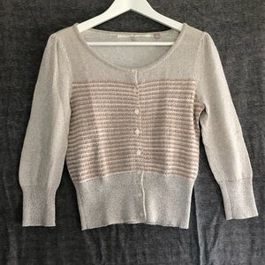 ANTHROPOLOGIE | 3/4 sleeve sweater | M